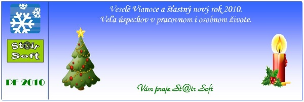 Novoročenka St@ir Softu PF 2010.
